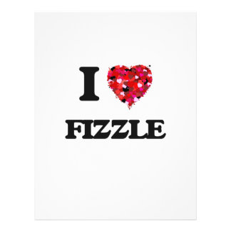 "Amo Fizzle Folleto 8.5"" X 11"""