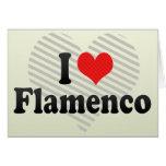 Amo flamenco felicitacion