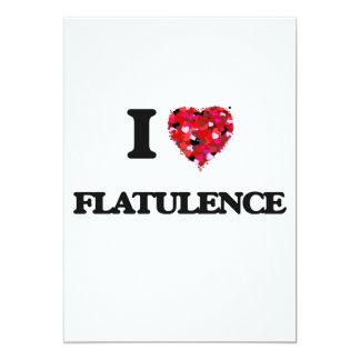 """Amo flatulencia invitación 5"""" x 7"""""""