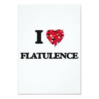 """Amo flatulencia invitación 3.5"""" x 5"""""""