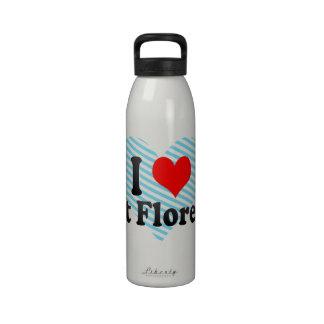 Amo Florencia del este Estados Unidos Botella De Agua