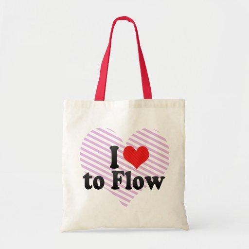 Amo fluir bolsa