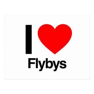 amo flybys ai tarjetas postales