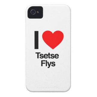 amo flys del tsetse iPhone 4 Case-Mate cárcasas