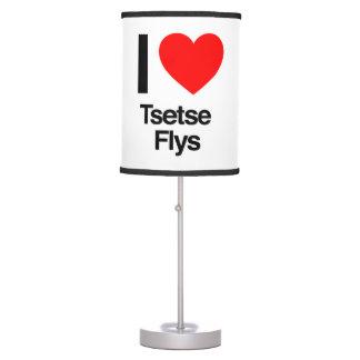 amo flys del tsetse lámpara de mesilla de noche