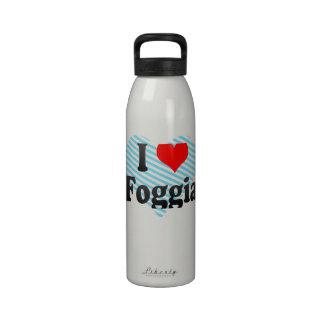 Amo Foggia Italia Botellas De Beber