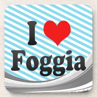 Amo Foggia Italia Posavasos De Bebida