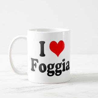 Amo Foggia Italia Tazas De Café