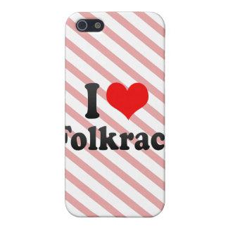 Amo Folkrace iPhone 5 Cárcasas