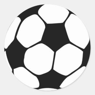 Amo Football.png Pegatina Redonda