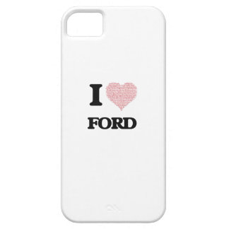 Amo Ford iPhone 5 Fundas