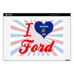 Amo Ford, Wisconsin Calcomanías Para Portátiles