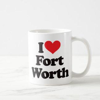 Amo Fort Worth Tazas De Café