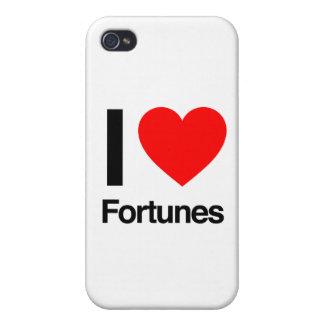 amo fortunas iPhone 4 fundas