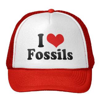 Amo fósiles gorras