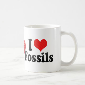 Amo fósiles tazas