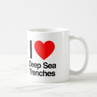 amo fosos del mar profundo taza clásica
