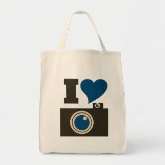 Amo fotografía bolsa