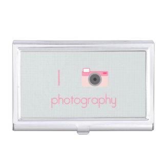 Amo fotografía cajas de tarjetas de presentación