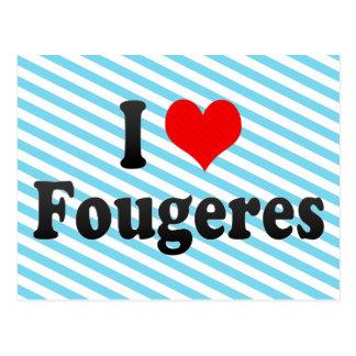 Amo Fougeres, Francia Postales