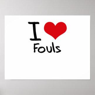 Amo Fouls Impresiones