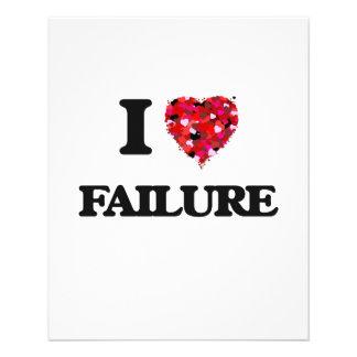 """Amo fracaso folleto 4.5"""" x 5.6"""""""