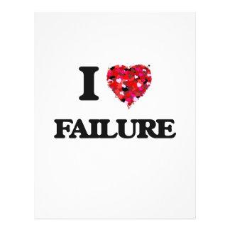 """Amo fracaso folleto 8.5"""" x 11"""""""