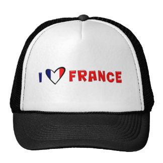 Amo Francia Gorros Bordados