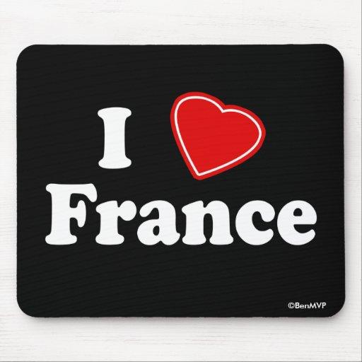 Amo Francia Tapetes De Ratones