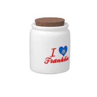 Amo Franklin, Connecticut Plato Para Caramelo