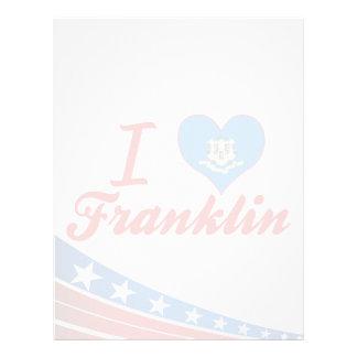 Amo Franklin, Connecticut Plantillas De Membrete