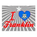 Amo Franklin, Connecticut Postales