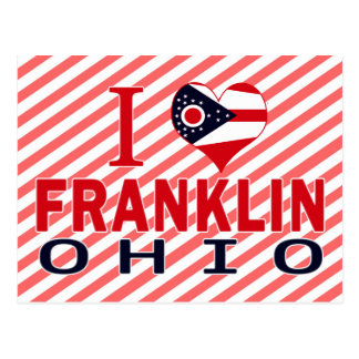 Amo Franklin, Ohio Postales