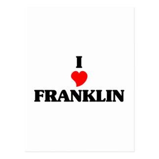 Amo Franklin Tn Postales