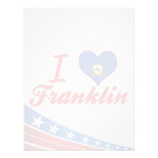 Amo Franklin, Vermont Membrete