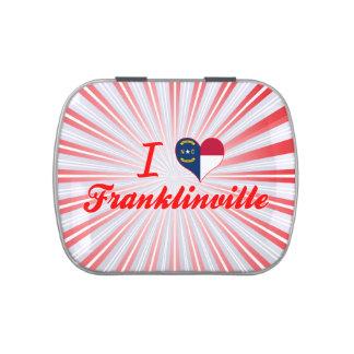 Amo Franklinville, Carolina del Norte Latas De Caramelos