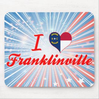 Amo Franklinville, Carolina del Norte Mouse Pad