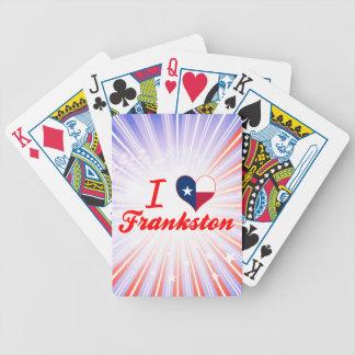 Amo Frankston, Tejas Baraja Cartas De Poker