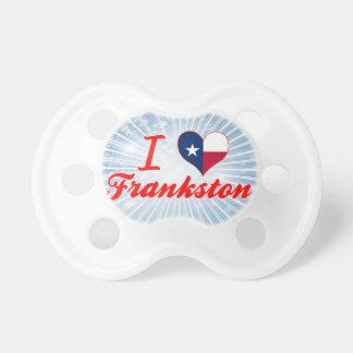 Amo Frankston, Tejas Chupete De Bebe
