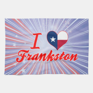 Amo Frankston, Tejas Toalla De Mano
