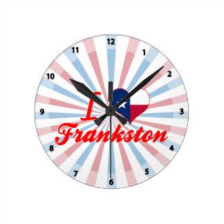 Amo Frankston, Tejas Relojes