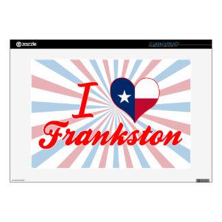 Amo Frankston, Tejas 38,1cm Portátil Calcomanía