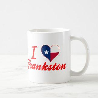 Amo Frankston, Tejas Tazas De Café