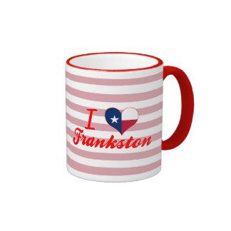 Amo Frankston, Tejas Taza A Dos Colores