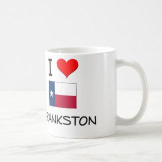 Amo Frankston Tejas Taza Básica Blanca