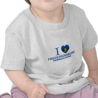 Amo Fredericksburg, PA Camiseta