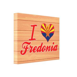 Amo Fredonia, Arizona Impresiones En Lienzo Estiradas