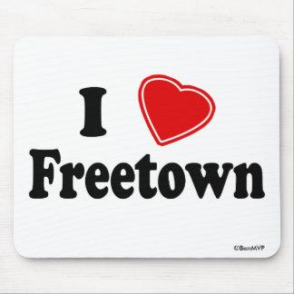 Amo Freetown Tapete De Ratón