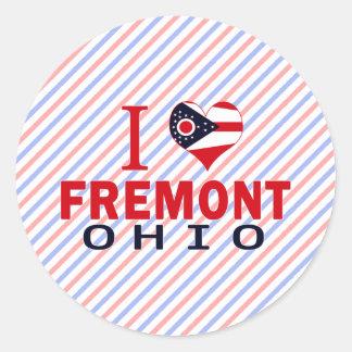 Amo Fremont Ohio Etiqueta
