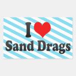 Amo fricciones de la arena rectangular altavoz